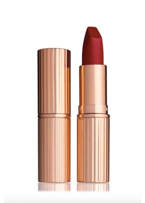 Charlotte Tilbury Matte Revolution Lipstick in Red Carpet Red