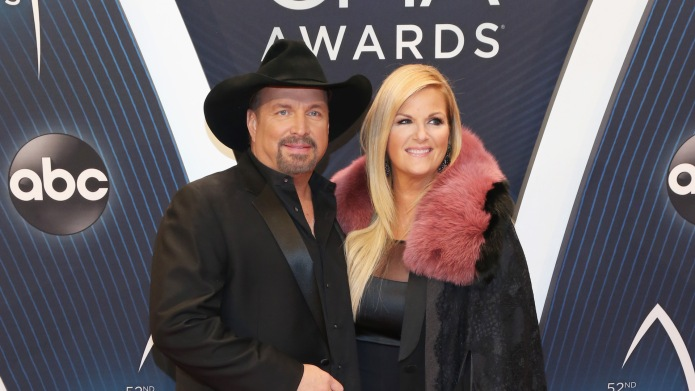 Garth Brooks and Trisha Yearwood attend