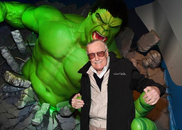 Stan Lee attends Madame Tussauds Las Vegas on February 28, 2017, in Las Vegas, Nevada