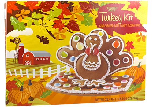 Gingerbread Turkey Kit