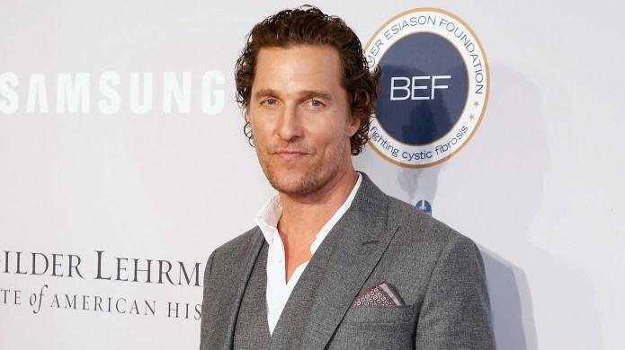 Matthew McConaughey attend 2018 Samsung Charity