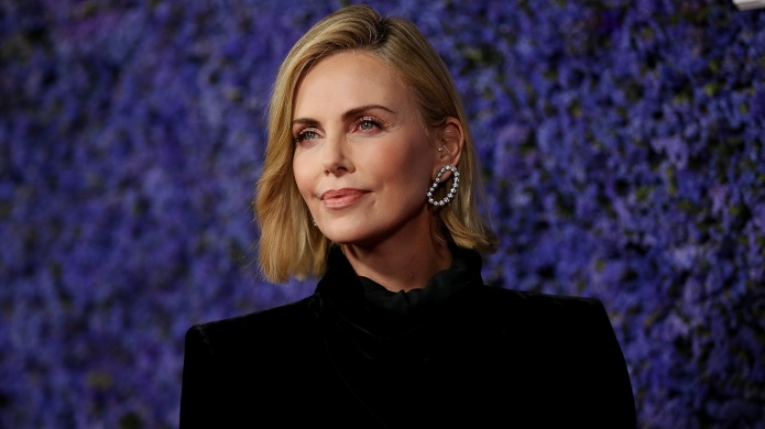 Charlize Theron attends Caruso's Palisades Village