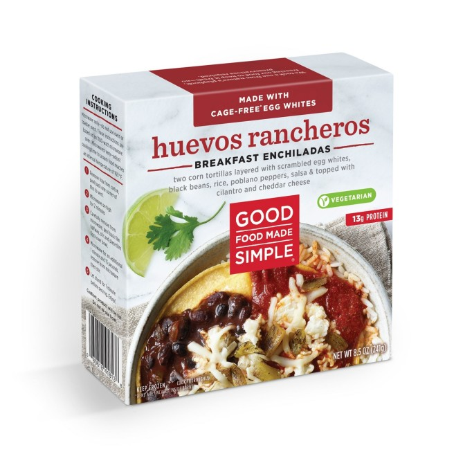 Good Food Made Simple Huevos Rancheros Frozen Breakfast Enchiladas