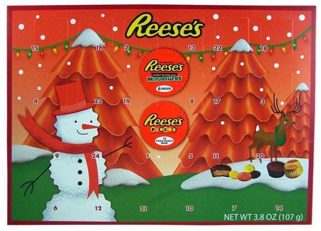 photo of reese's advent calendar