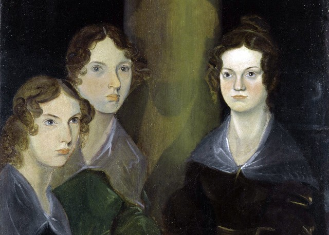 The Bronte Sisters, painted by Patrick Branwell Bronte, circa 1834. Located in the National Portrait Gallery, London, England, UK.