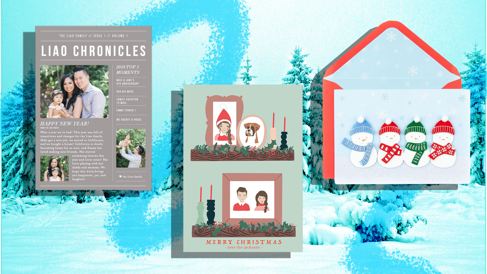 The Best Family Holiday Cards On The Internet Sheknows