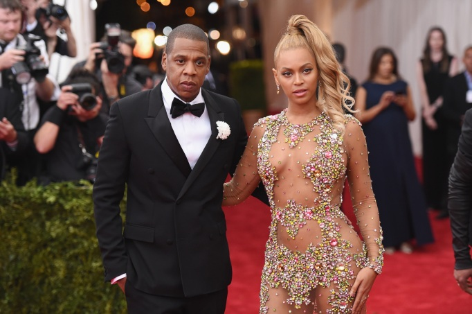 Jay-Z and Beyoncé attend the 'China: Through the Looking Glass' Costume Institute Benefit Gala at the Metropolitan Museum of Art