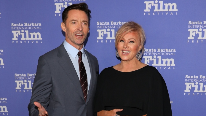 Hugh Jackman and Deborra-lee Furness attend