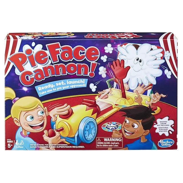 Pie Face Cannon! Family Board Game