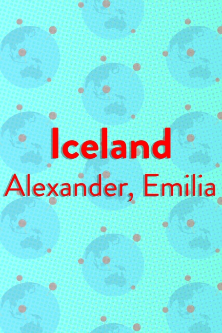 The Top Baby Names in (Almost) Every Country of the World: Iceland