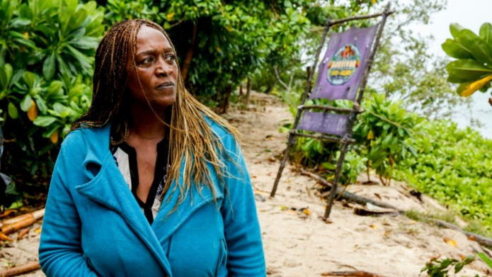 Natalie Cole voted off 'Survivor: David