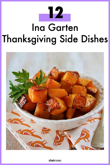 Ina Garten Thanksgiving Side Dishes