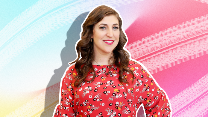 Mayim Bialik Spent Thanksgiving With Her