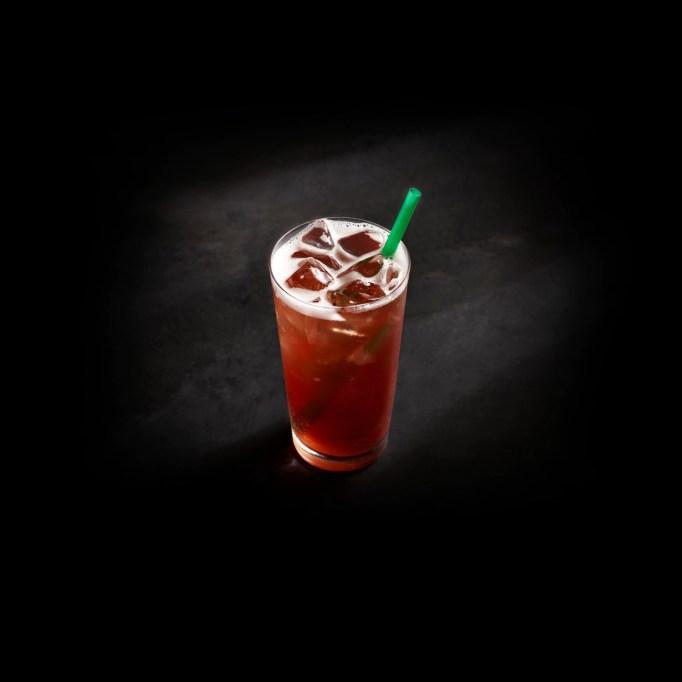 Teavana Shaken Peach Citrus White Tea Infusion Lemonade