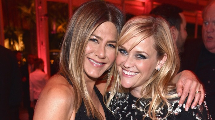 Jennifer Aniston and Reese Witherspoon attend
