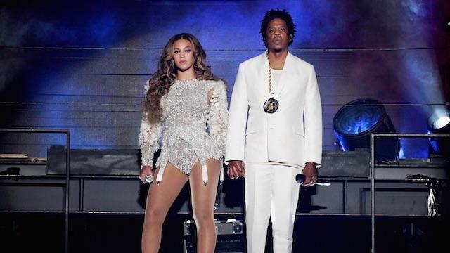 Beyoncé Jay Z white outfits