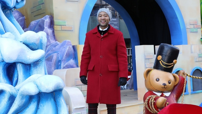 John Legend attends the 2018 Macy's