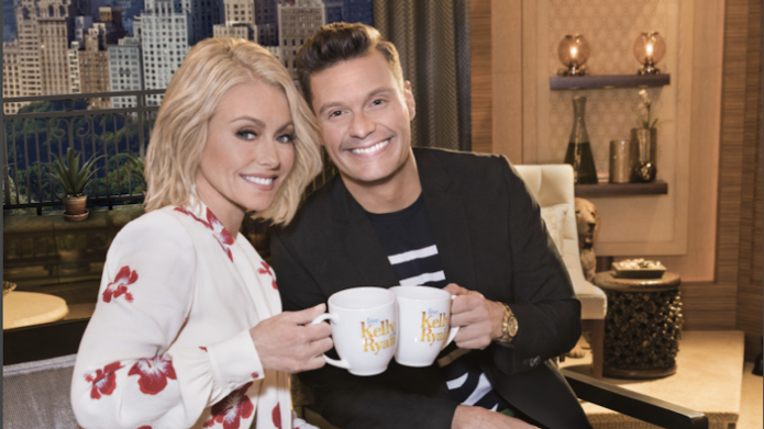Kelly Ripa & Ryan Seacrest co-host