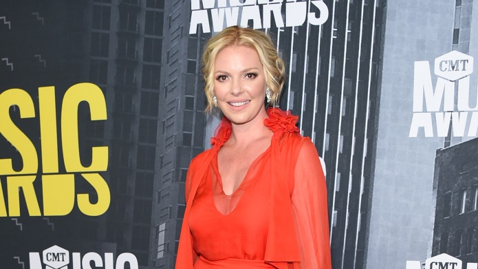 Katherine Heigl attends the 2017 CMT