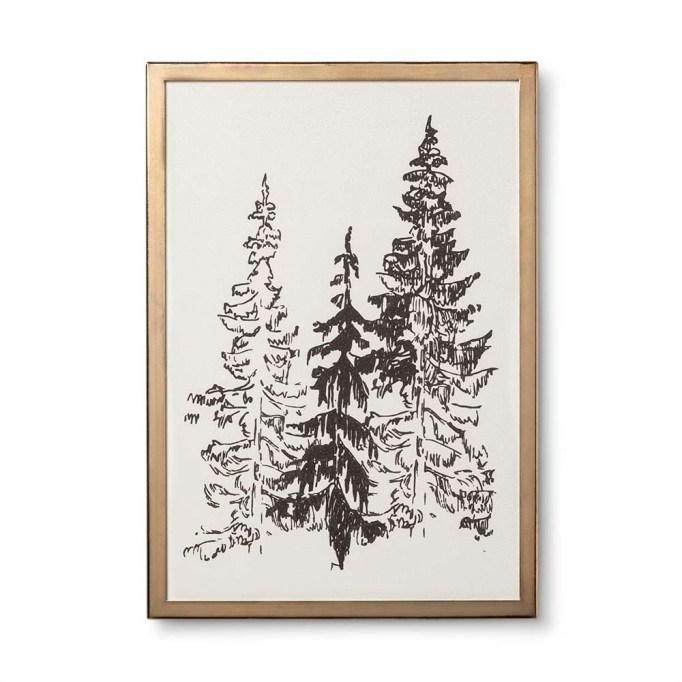 photo of Hearth & Hand Framed Tree Art