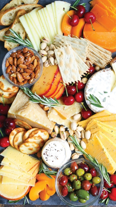 10-Minute Cheese Board