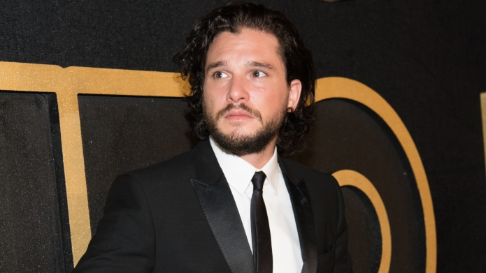 Kit Harington arrives at HBO's Post