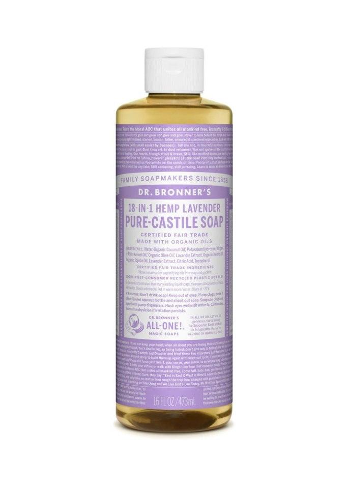 Dr. Bronner's Pure Castile Lavender Liquid Soap