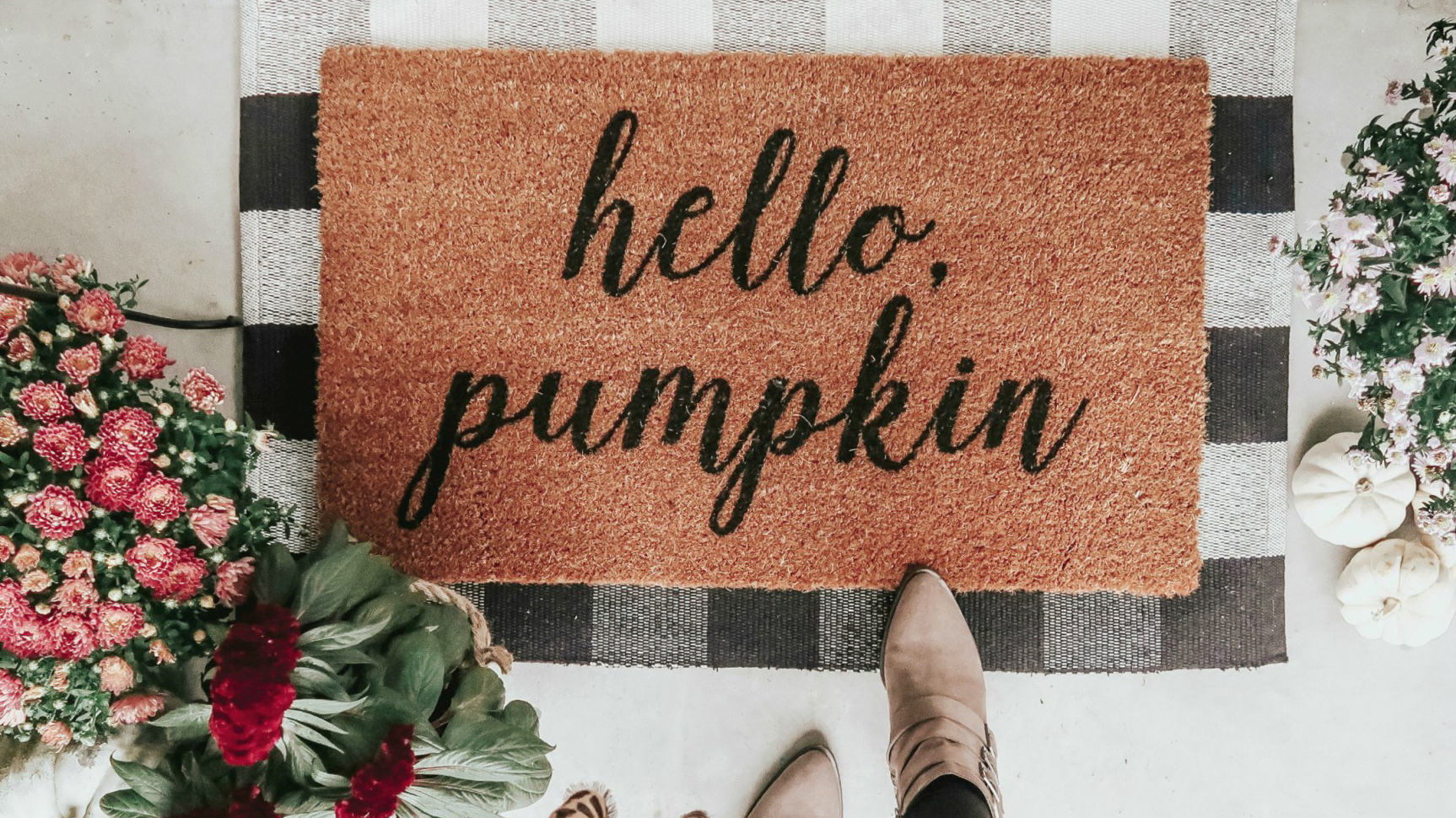 How To Get The Layered Doormat Look We Are Loving This Fall