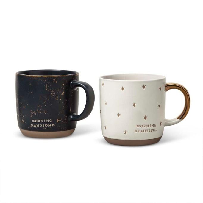 photo of Hearth & Hand Hello Handsome & Hello Beautiful Mugs