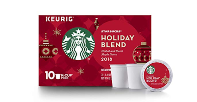 photo of Starbucks Holiday Blend Coffee K-Cups