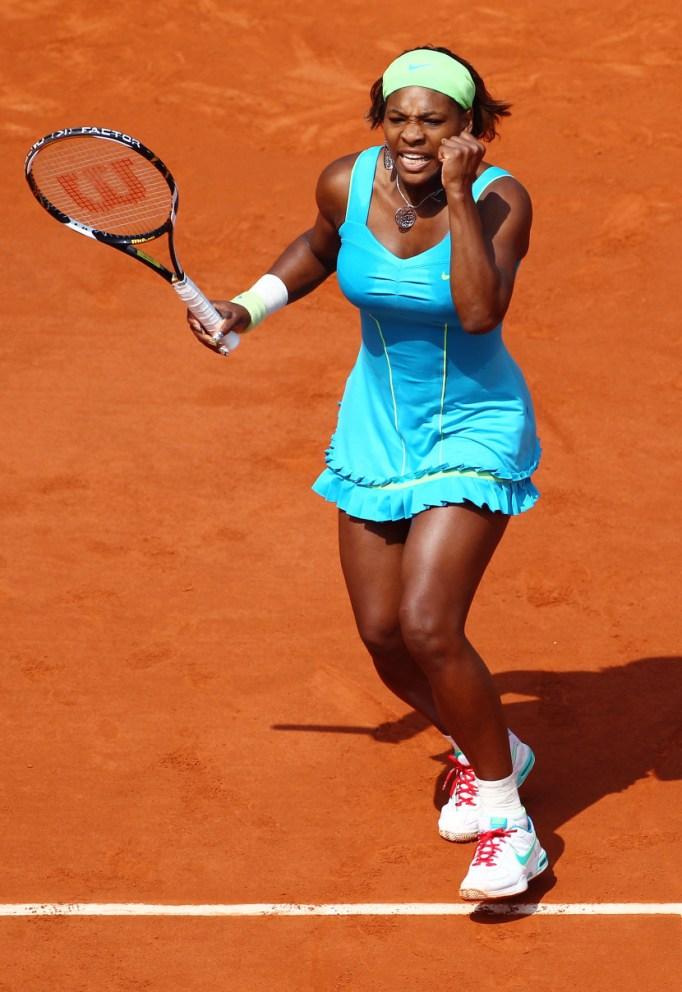 Serena Williams: 2010 French Open
