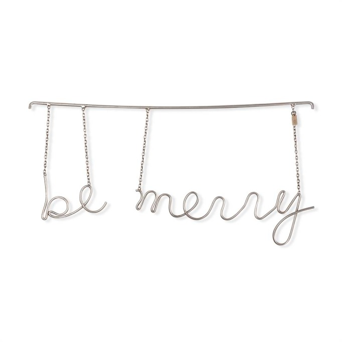 photo of Hearth & Hand 'Be Merry' Hanging Word Art