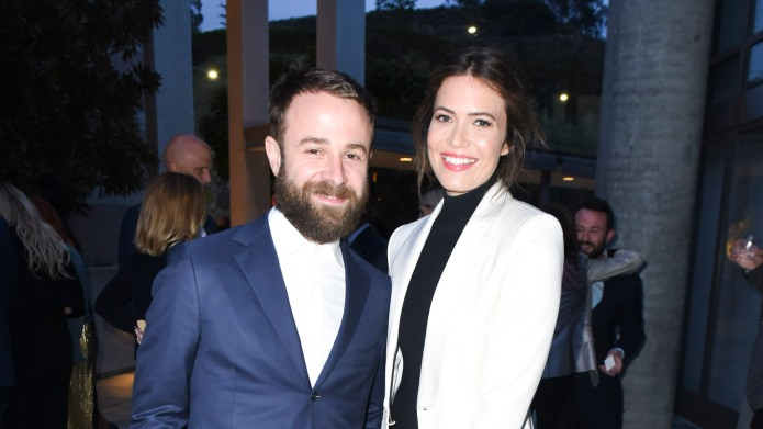Taylor Goldsmith and Mandy Moore attend