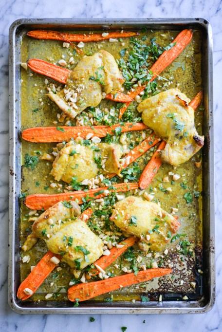 Curried Chicken Sheet Pan Dinner