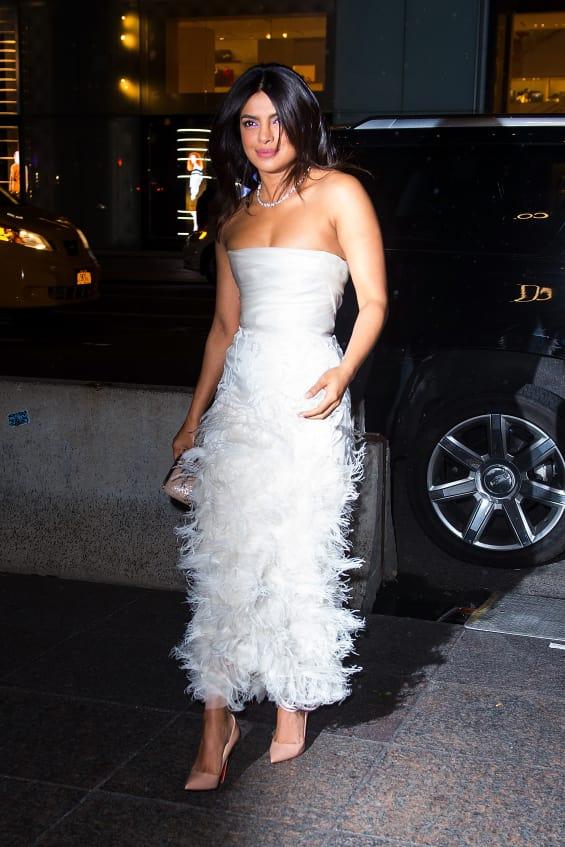 priyanka chopra bridal shower dress