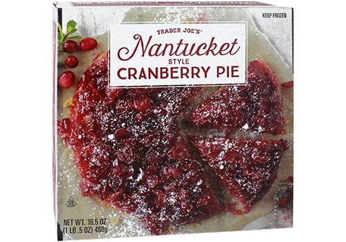 Nantucket Style Cranberry Pie