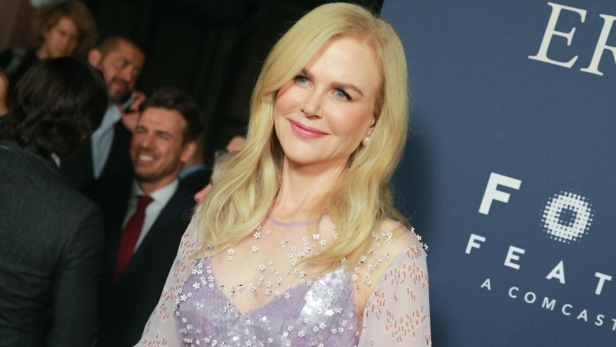 Nicole Kidman attends the premiere of