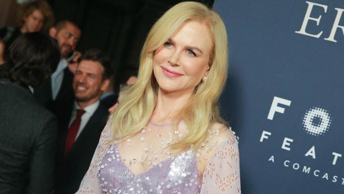 Nicole Kidman attends the premiere of