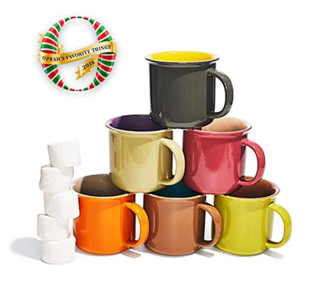 photo of Yedi Houseware Jumbo Porcelain Mugs