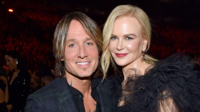 Keith Urban and Nicole Kidman attend