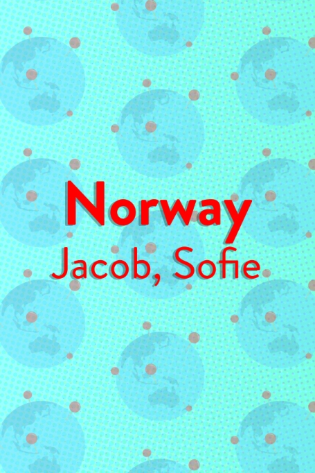 The Top Baby Names in (Almost) Every Country of the World: Norway