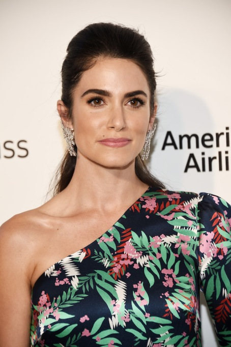 Nikki Reed arrives at the 26th Annual Elton John AIDS Foundation's Academy Awards Viewing Party