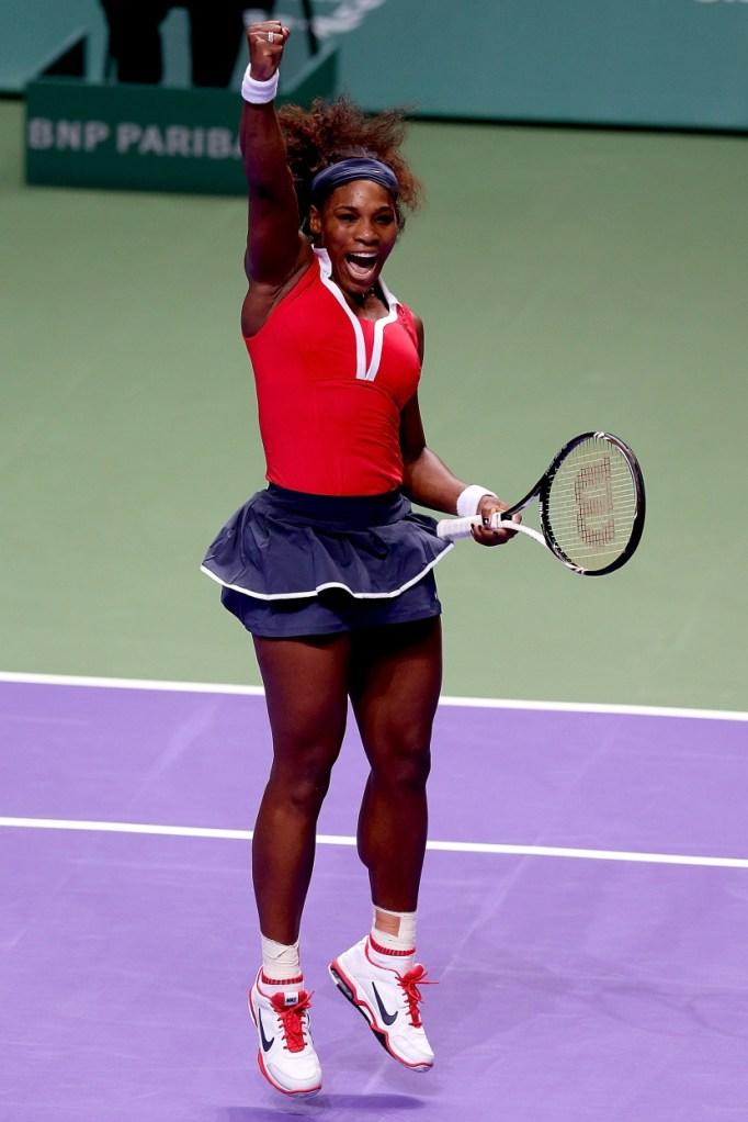 Serena Williams: 2012 WTA Championships