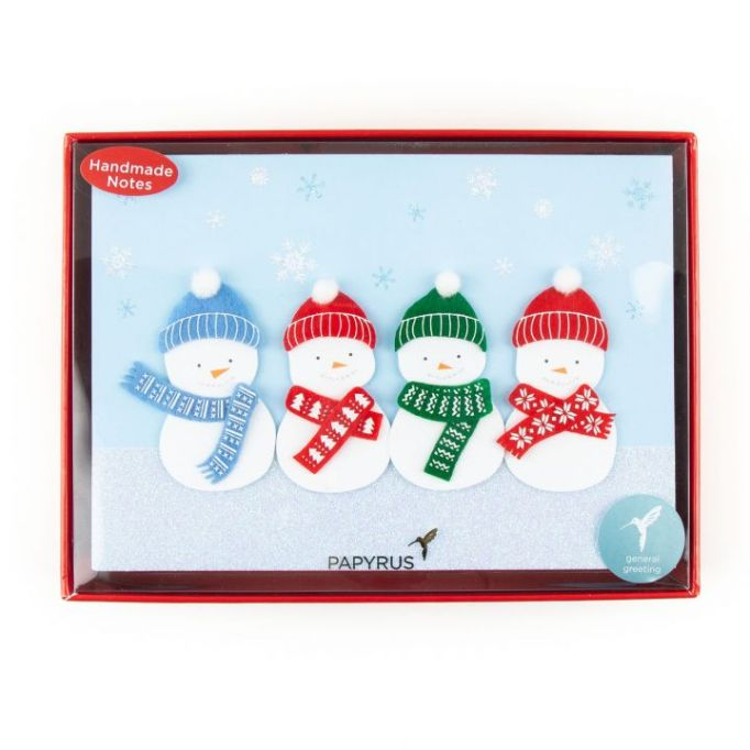 Sweetest Snowmen Boxed Holiday Cards