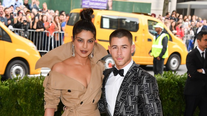 Priyanka Chopra and Nick Jonas attend