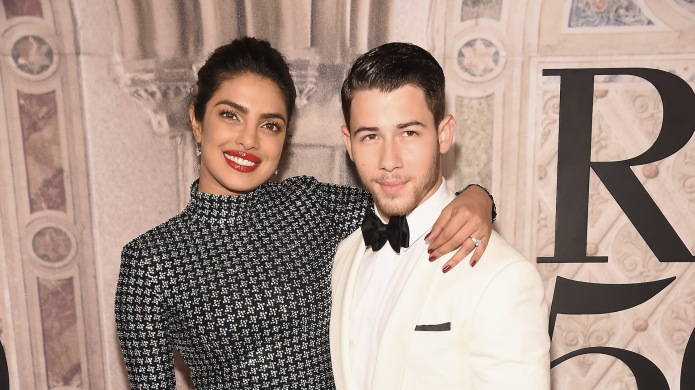 Priyanka Chopra and musician Nick Jonas
