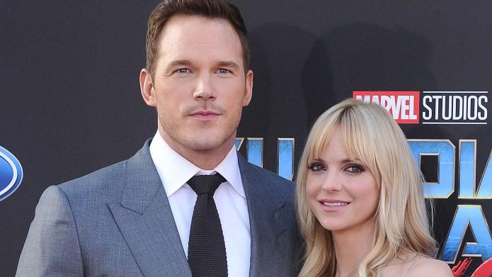Anna Faris Chris Pratt Divorce Terms
