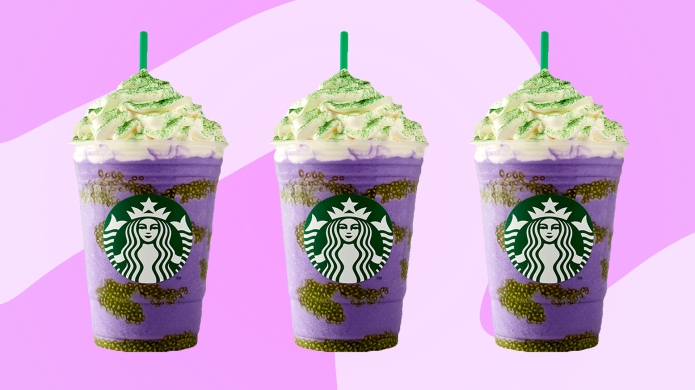 photo of starbucks witches brew frappuccino