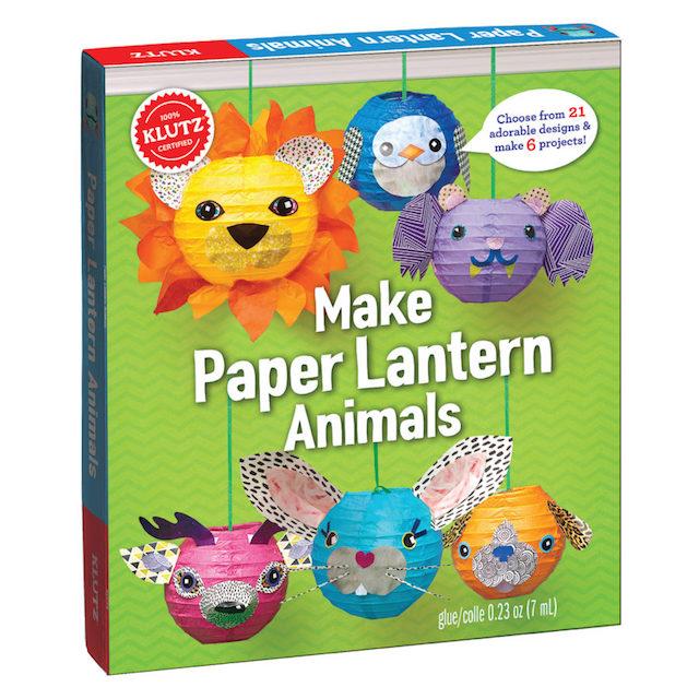 Make Paper Lantern Animals Book