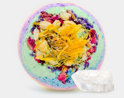 'Flowerchild' bath bomb